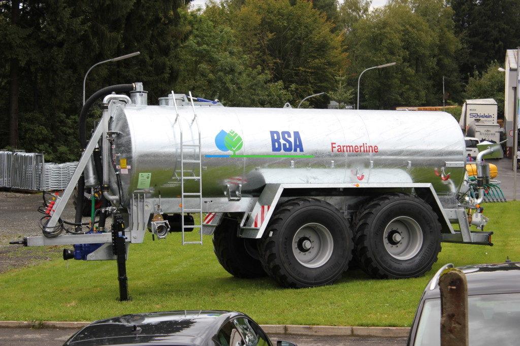 Vakuumtankwagen von BSA vorgestellt