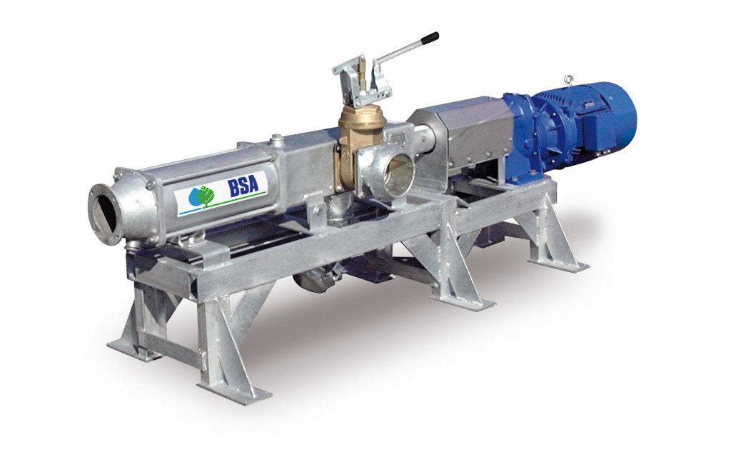 Meixner Gülletechnik ist überzeugt von der Qualität und Langlebigkeit der BSA Exzenterschneckenpumpe