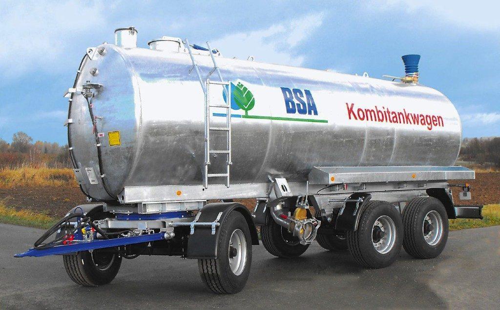 Kombitankwagen BSA Meixner Gülletechnik Zubringtankwagen