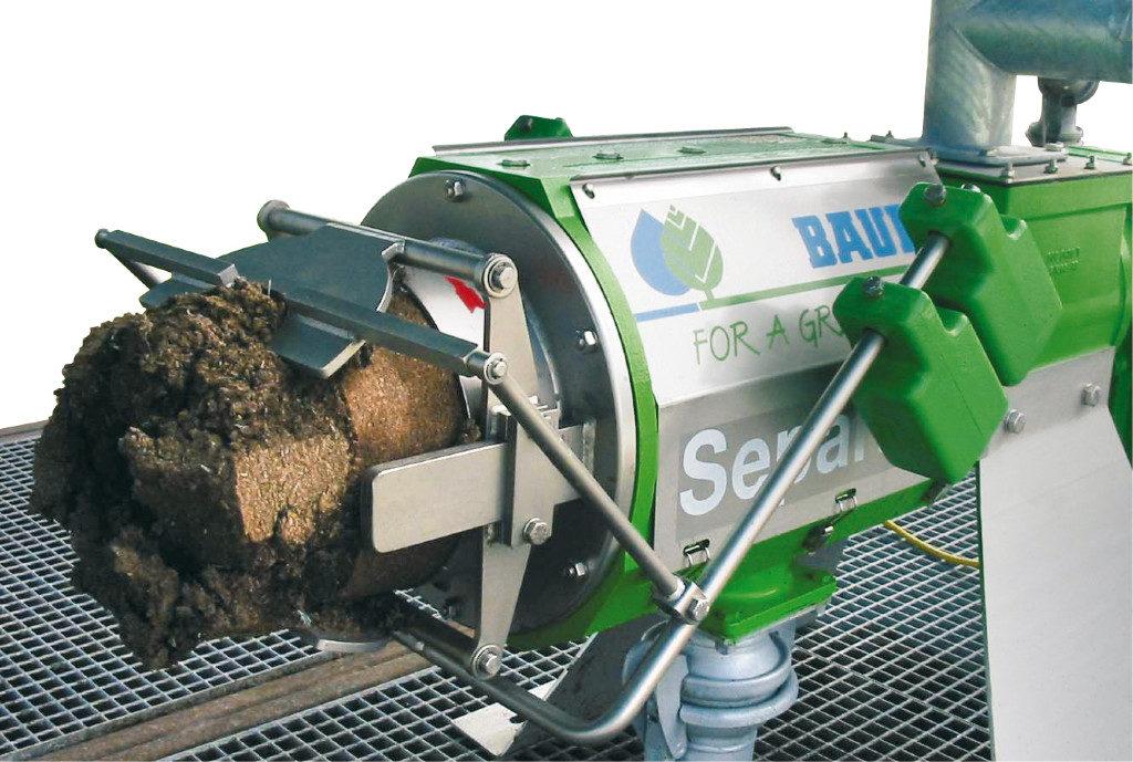 Separator für Einstreugewinnung Green Bedding