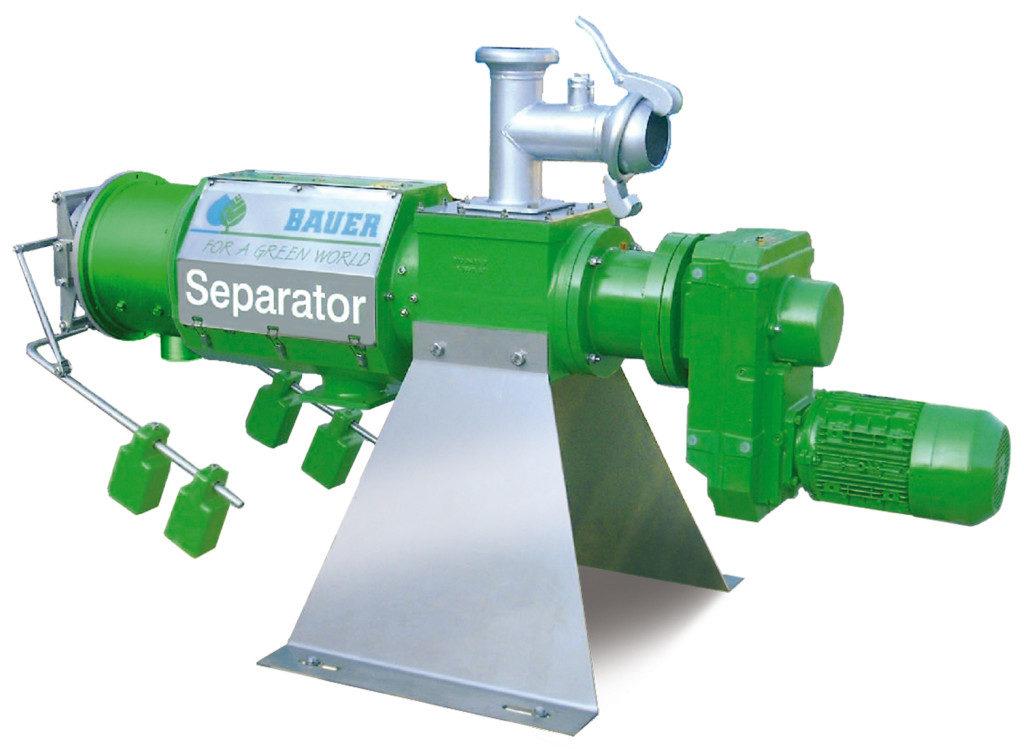 Die Bauer Gruppe sind erfahrene Hersteller von Separatoren in der Landwirtschaft