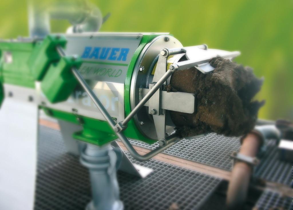 Der Separator von Bauer ist leistungsfähig und stabil