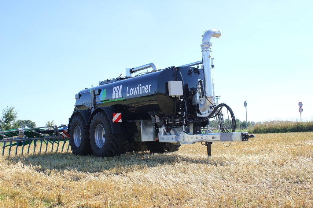BSA Lowliner Pumptankwagen Meixner Gülletechnik e.K.