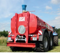 BSA Lowliner Ovale Fassform Meixner Gülletechnik