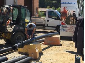 Rohrleitungsbau nach WHG Meixner Gülletechnik