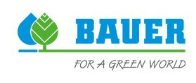 Bauer Separatoren für Gülletechnik und Biogas