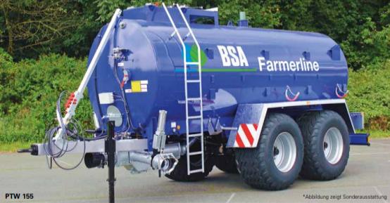 Meixner Gülletechnik e.K. stellt den BSA Tandem Pumptankwagen Farmerline vor